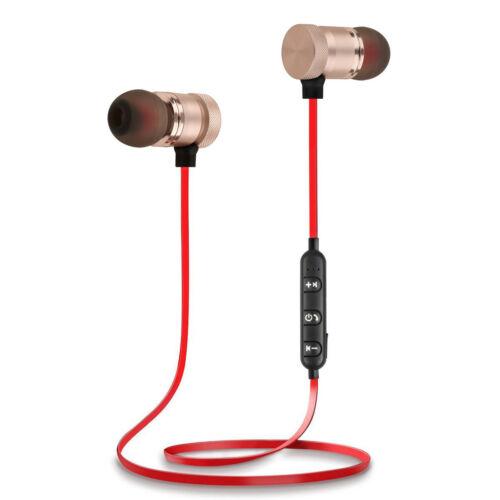 Bluetooth 4.1 Wireless Stereo Sport Earphone Earbuds Headset Headphone Universal