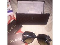 gucci sunglasses. 100% authentic. going for cheap.