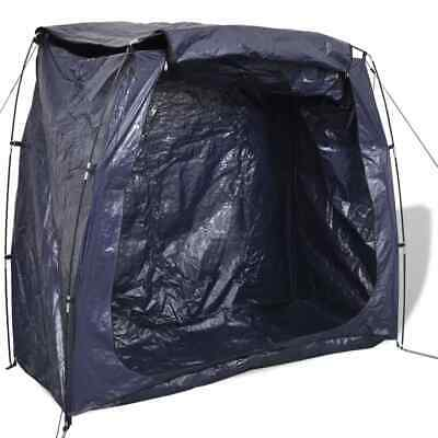 Garden Storage Tent Bike Bicycle Cover Shed Outdoor Shelter 200x80x150 cm Blue