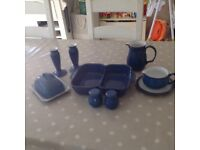 Denby Imperial blue extra's