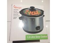 Slow cooker - 1.5 litre capacity