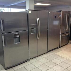 LARGE SELECTION OF REFURBISHED REFRIGERATORS