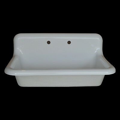 Reproduction Single Bowl Farmhouse Drainboard Sink - Model #SB3624