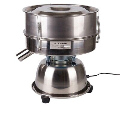 110v Electric Mechanical Sieve Shaker Vibrating Sieve Machine 60 Mesh 0.3mm