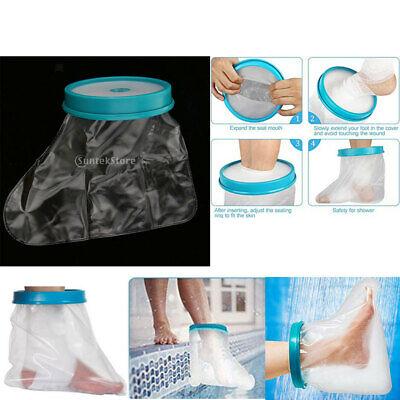 MagiDeal PVC Kids Wound Care Fußabdeckung Wasserdichte Badehose für