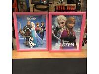 Disney Frozen Pictures x 2 Anna & Elsa