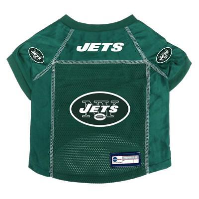 New York Jets Small Pet Jersey [NEW] NFL Dog Puppy Shirt Clothes