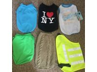 LOOK Various Sizes £3 each Dog Coats Clothes Puppy Rabbit Cat Pet Baby Walking Leads