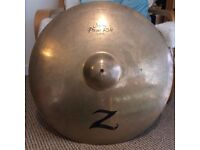 "Zildjian Z Custom 22"" Power Ride - RARE + MIGHTY"