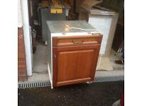 Neff integrated fridge,£85.00