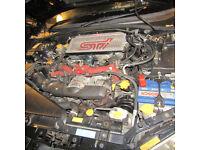 WANTED!! 02-07 Subaru Impreza STi,,Top Cash Price Paid for Damaged,non Runner,blown engine etc