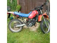 Honda MTX 125cc. newly rebuilt engine. complete Big One exhaust. continental tyres. Loads of spares.