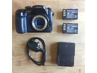 Panasonic Lumix GH4 with additional battery