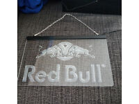 Red Bull Illuminated Sign