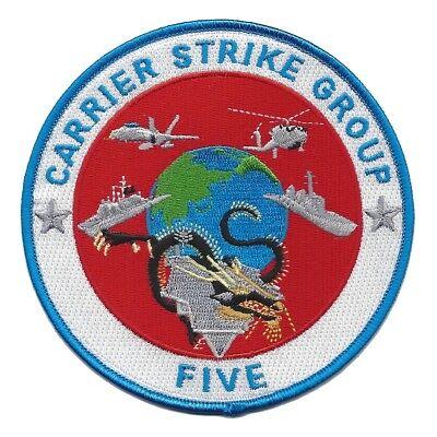 CARRIER STRIKE GROUP FIVE CSG-5 CARSTRKGRU 5 - Navy Military Patch