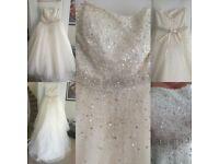 Ronald Joyce Wedding Dress size 20 sparkley stunning