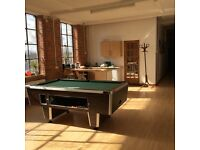 wonderful office space in thriving creative IT business available with generous meeting +common room