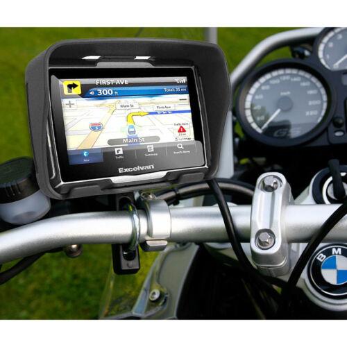 """4,3"""" Zoll 32GB Speicher Motorrad Navi GPS Navigationsgerät Bluetooth,Wasserdicht"""
