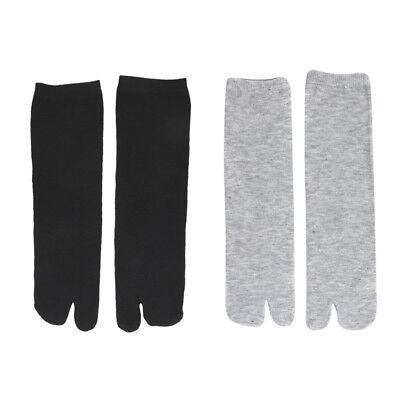Used, 6 Pairs Elastic Splint Two 2-Toe Socks Japanese Flip Flop Tabi Geta Socks for sale  Shipping to Canada