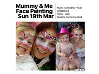 Mummy & Me Face Painting Day