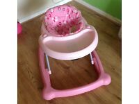 Girls Baby walker, excellent condition