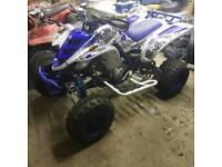 Yamaha raptor 660 quad