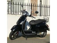Vespa GTS/GTV 300 IE - Black - 2013 - Great Condition