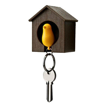Wall Hook Bird House Coat Hanger Storage Rack Key Holder Organizer Decors-01