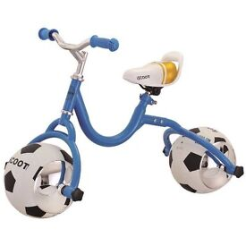 Kids Football Balance Bike Scooter First Ride On Learning Training, Postage available.