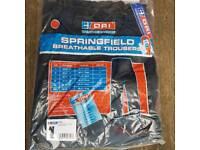 Dri waterproof breathable trousers