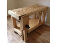 Woordworking workbench - made from European Steamed Beech