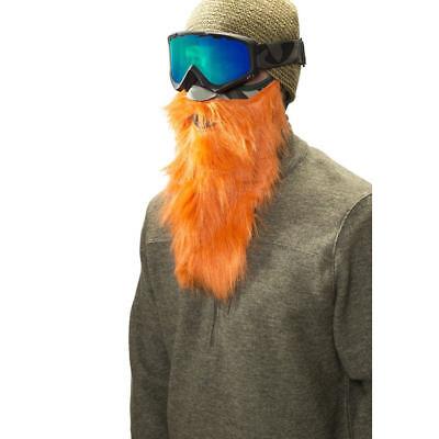 2b29610f33a Beardski Hunter Orange Camo Insulated Thermal Ski Warm Winter Beard Face  Mask