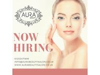 Part/Full Time Experienced Beauty Therapist Positions available!