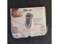 Elle tens machine only used for a few hours of labour