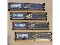 8GB DDR2 RAM - PC2 8500 OCZ gold series - 4x2GB