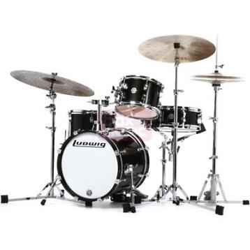(B-Stock) Ludwig Breakbeats by Questlove shellset Black...