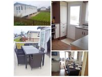 3 Bed Caravan for Hire Holiday Resort Unity Brean with Private Garden