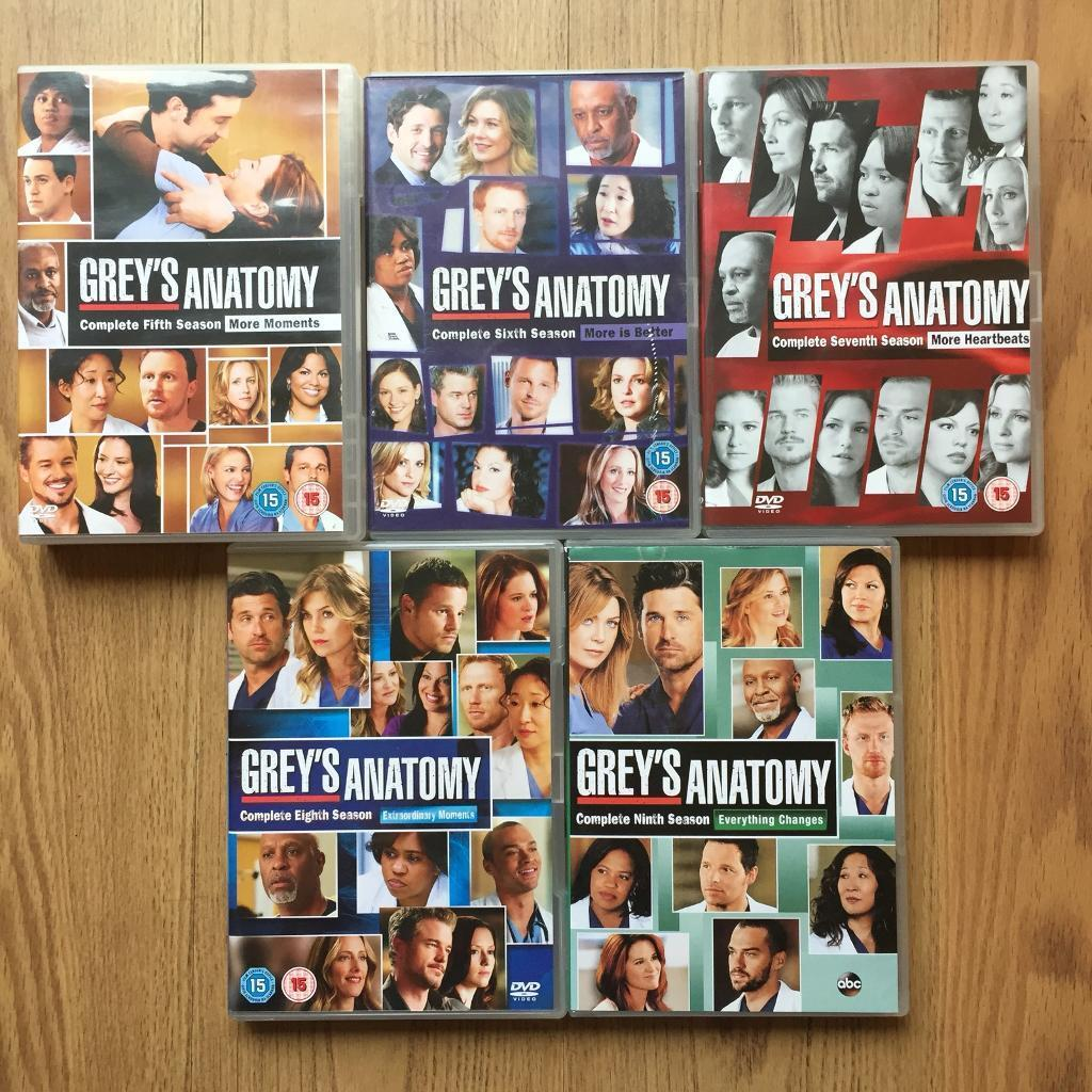 Grey\'s Anatomy DVDs BOXSETS | in Bradford, West Yorkshire | Gumtree