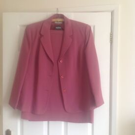 Eastex pink suit. Size 20. Hardly worn. Bought for wedding.