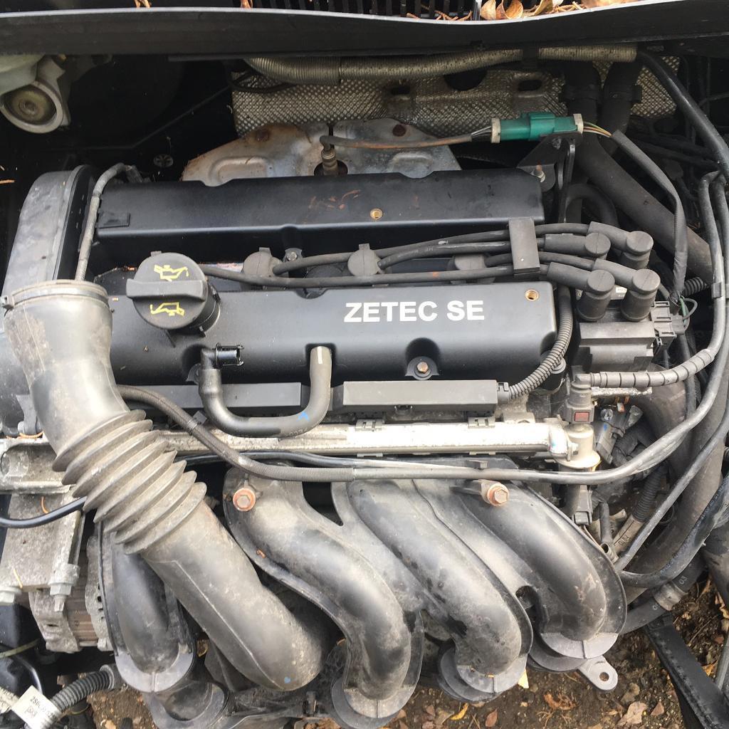 Ford Fiesta 1.2 zetec Petrol engine 2003 - gearbox