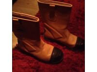 NEW Trojan rigger boots size 10