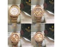 ROLEX ICED OUT DIAMONDS!! Good quality watches automatic gold diamond bezel London kilburn ealing