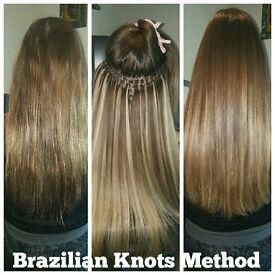 BRAZILIAN KNOTS HAIR EXTENSIONS
