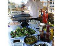 Kitchen porter and general kitchen help.