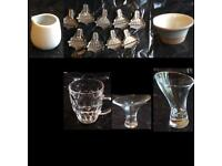 Restaurant crockery & glassware