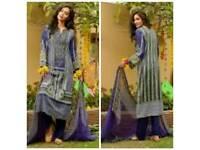 Lala Classic Crinkle Lawn unstitched salwar kameez