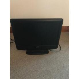 17 inch TV with built in DVD player