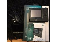 Logitech Harmony remote control model 1100 boxed with all accessories touch screen great buy