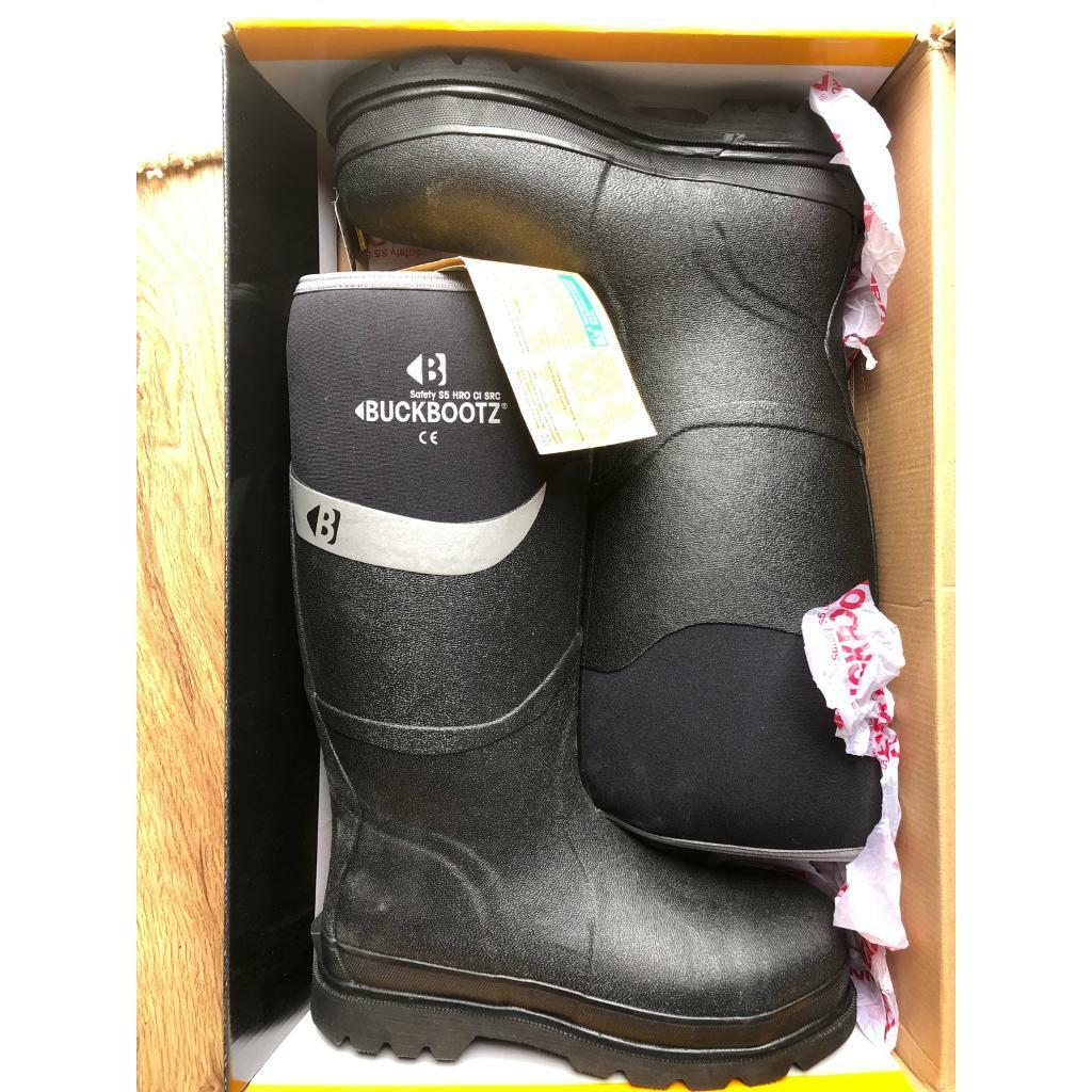9b91c6ae1b6 Buckler 👌new 👌Buckbootz Neoprene Safety Site Work Wellie Wellington Boots  size 8 | in Penrith, Cumbria | Gumtree