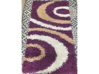Rug Indoor Purple and Beige (New)
